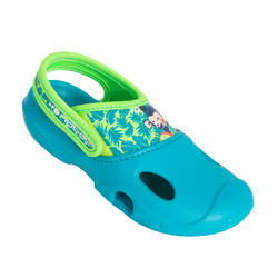 BOY'S POOL CLOGS 100 GREEN
