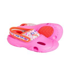 Bade-Clogs Kinder rosa