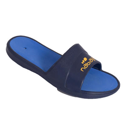 Boys' Swimming Pool Sandals Slap 500 - Blue