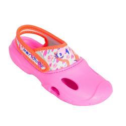 女童泳池拖鞋 - 粉紅色