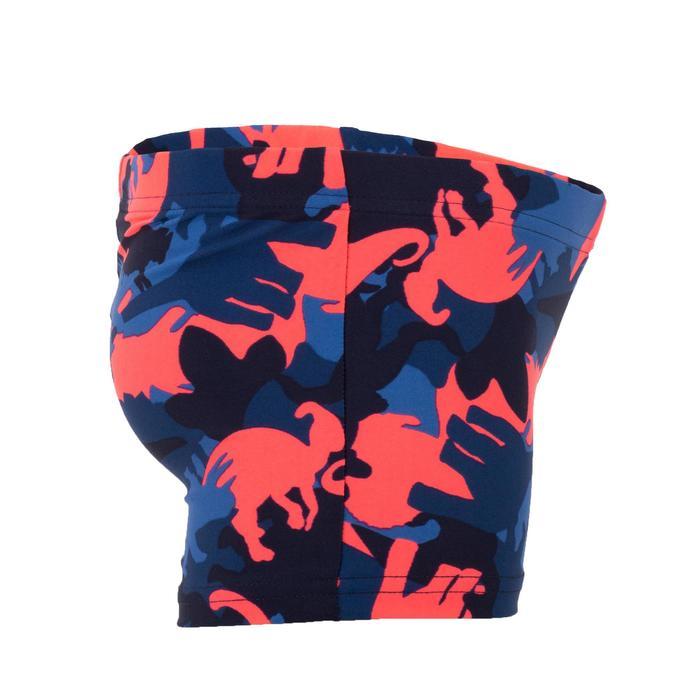 Maillot de bain bébé garçon boxer imprimé Dino bleu et rouge