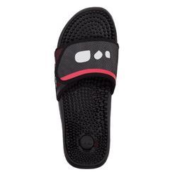 Men's Pool Sandals Slap 900 - Studded Black Red