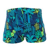 Baby / Kids' Swim Shorts - Blue Jungle Print