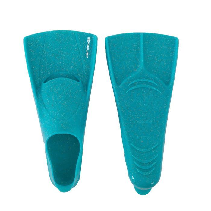 Schwimmflossen 500 Silifins kurz Lux Glitter