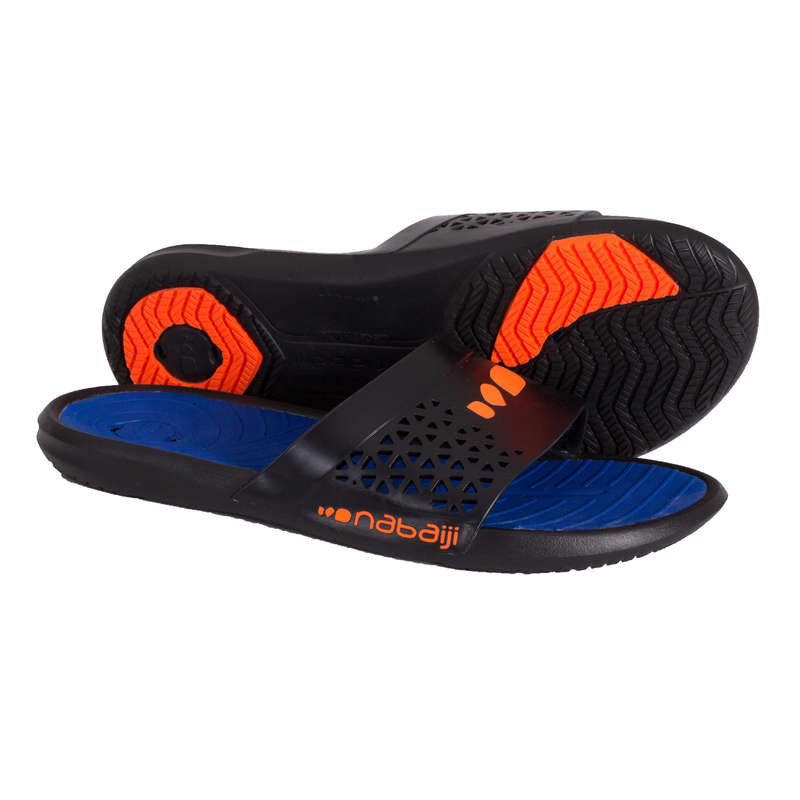 POOL SHOES Swimming - MEN'S POOL SANDALS - BLUE NABAIJI - Swimming
