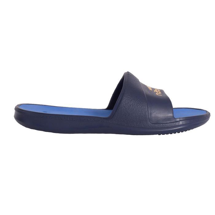 Badsandalen voor dames Metaslap 500 blauw