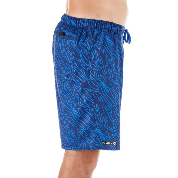 100 Standard Surfing Boardshorts - Marble Blue