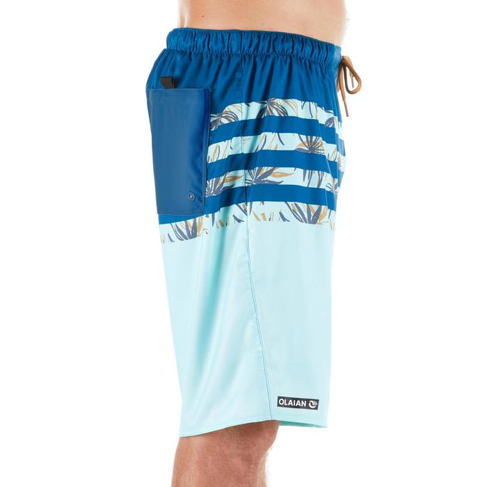 100 Long Surfing Boardshorts - Flostripe Frozen
