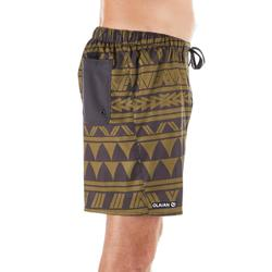Surf boardshort court 100 Ethnic Kaki