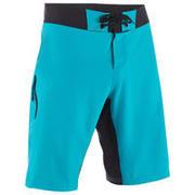 Turkizne daljše plavalne kratke hlače 500
