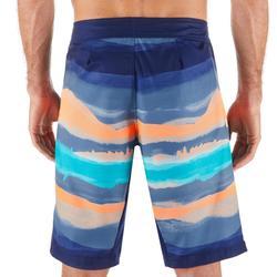 """Bañador Largo Surf 500 Paint Block Red Hombre 20"""""""