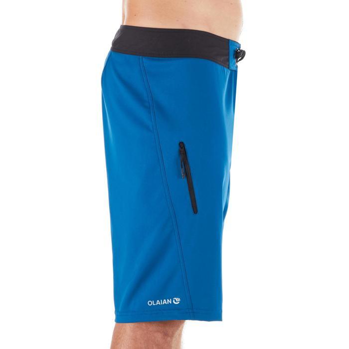 長版衝浪褲500-藍色