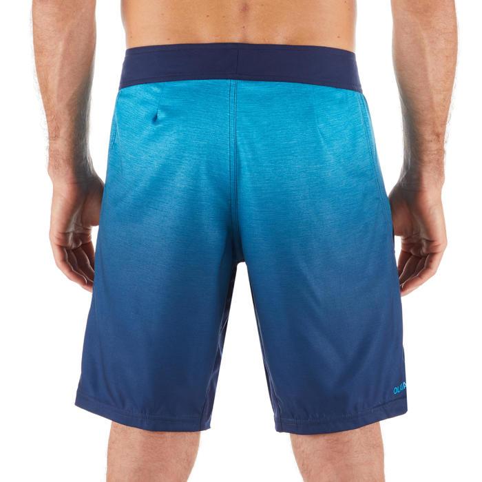 "Bañador Corto Surf Olaian 500 Gradient Hombre Azul 18"""