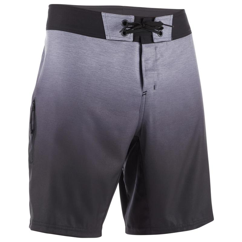 Surfing Standard Boardshorts 500 - Gradient Grey