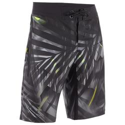 Surf boardshort standard 500 Jungle Grey