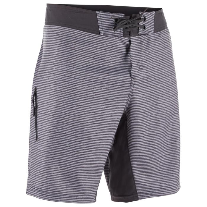 Boardshorts Surfen 500 Standard Heather grau