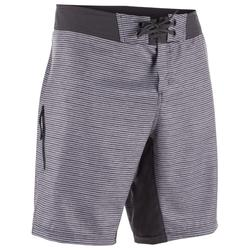 Surf boardshort standaard 500 Heather Grey