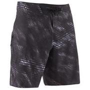 Sive daljše plavalne kratke hlače 900