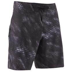 900 Long Surfing Boardshorts - Dark Wave Grey