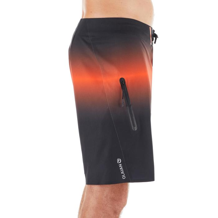 Boardshorts lang Surfen 900 Light rot