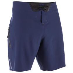 Lange heren zwembroek Boardshort 900 Tonal Blue