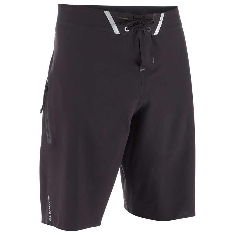 MEN ADVANCED BOARDSHORT Swimwear and Beachwear - SBS 900 - Pure Black OLAIAN - Swimwear and Beachwear
