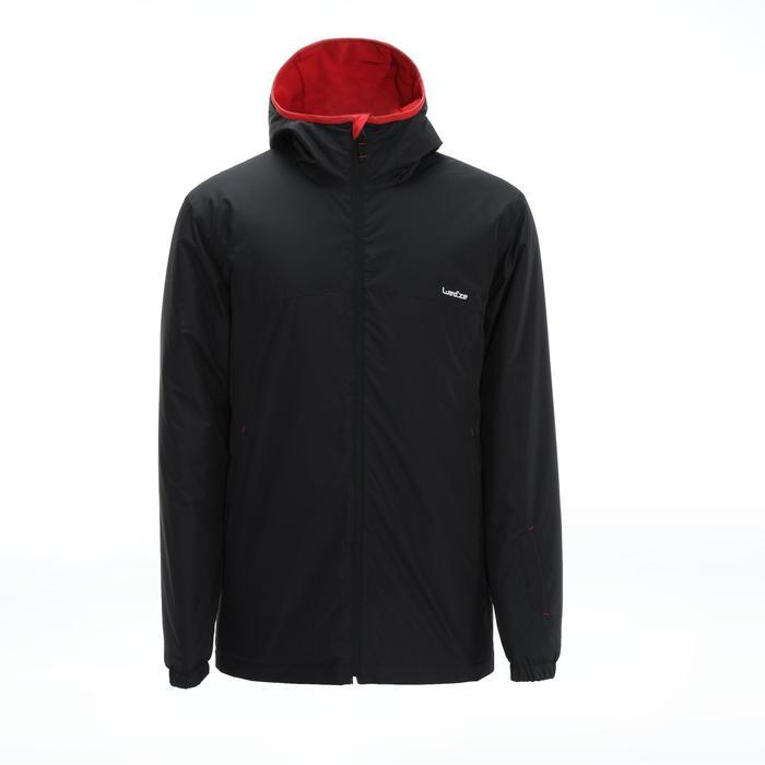 男款下坡滑雪外套100 - 黑