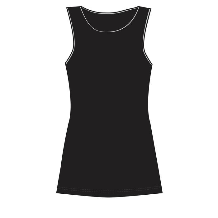 Tank-Top 500 Gym & Pilates Damen schwarz