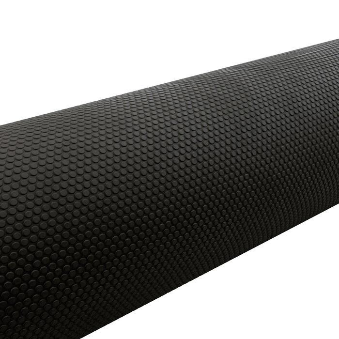 Foam Roller - Black/Length 90 cm Diameter 15 cm