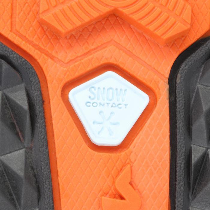 Chaussures de randonnée neige homme SH520 x-warm mid noires. - 153742