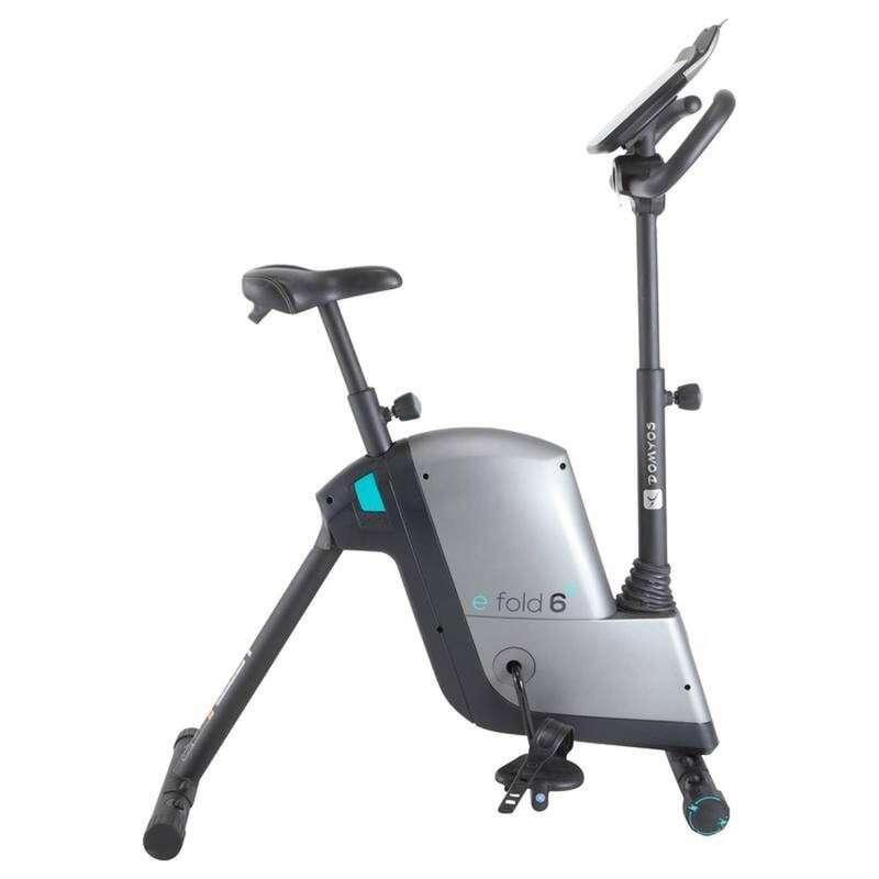 ROWERY STACJONARNE Fitness, siłownia - Rower E FOLD  DOMYOS - Sprzęt Fitness Cardio