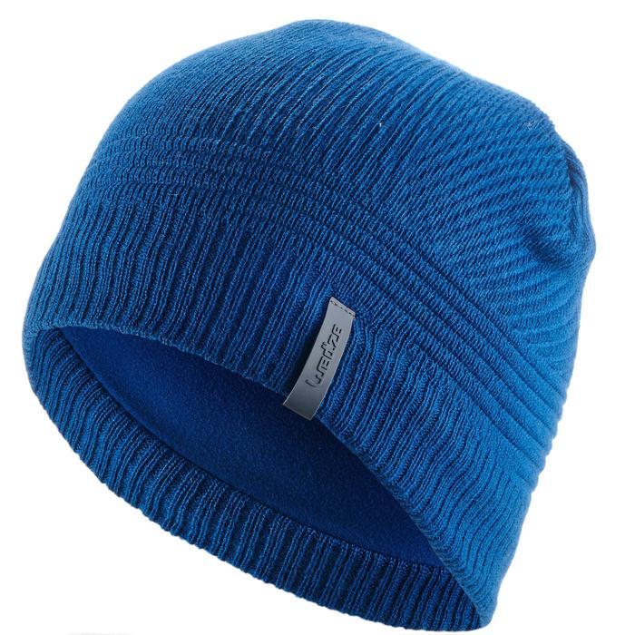 Skimuts kinderen Pure blauw