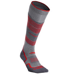 ADULT SKI SOCKS 300 GREY