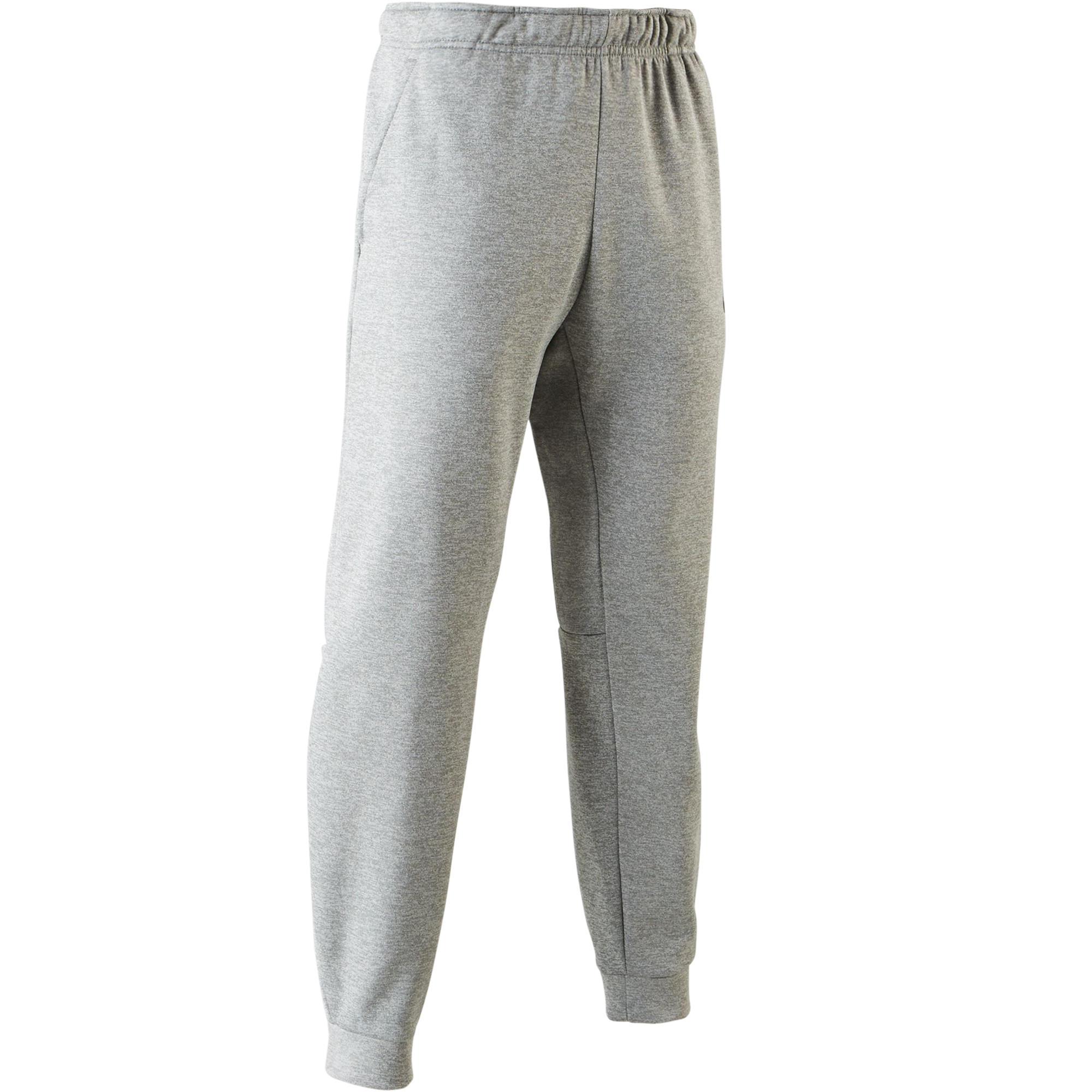 pantalon gym pilates homme gris nike
