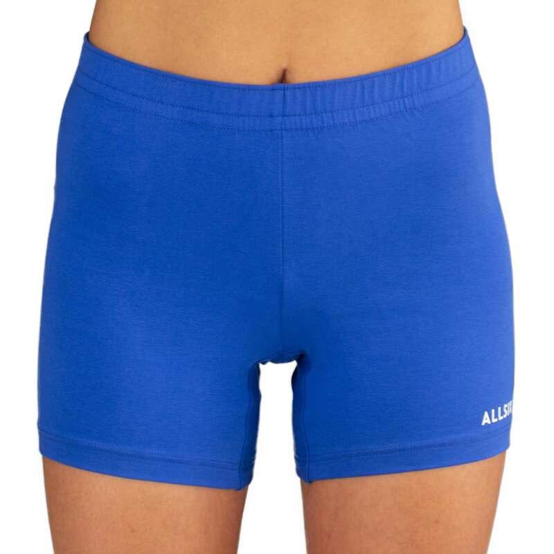 ABBIGLIAMENTO PALLAVOLO Sport di squadra - Short Volley donna Blu Royal ALLSIX - Abbigliamento, calze Pallavolo