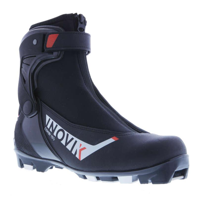 БЕГОВЫЕ ЛЫЖИ ДЛЯ ВЗРОСЛЫХ / КОНЬКОВЫЙ СТИЛЬ Большие размеры - Лыжные ботинки Combi 150 взр.  INOVIK - Большие размеры