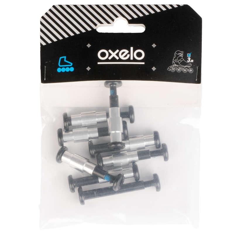Взрослая защита Роликовые коньки - Оси 8 мм пластик. основа x10 OXELO - Аксессуары