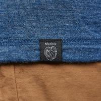 Travel 100 Long-sleeved Travel Trekking Merino Wool T-Shirt - Men