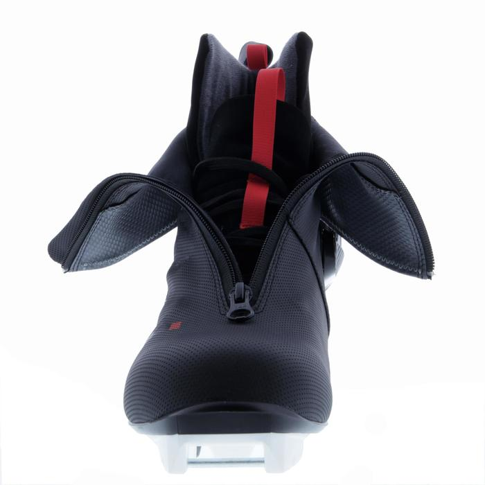 Langlaufschuh XC S Skate 500 Erwachsene schwarz