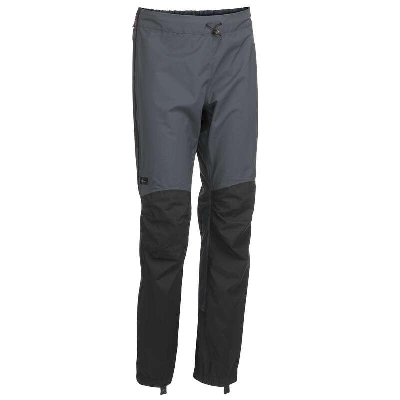 WOMEN WATERPROOF JACKET & OVERTROU. MT Hiking - W Over-pants Trek500 CBG FORCLAZ - Hiking Clothes