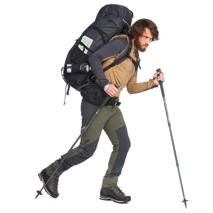 Pantalon trekking montagne TREK900 homme kaki