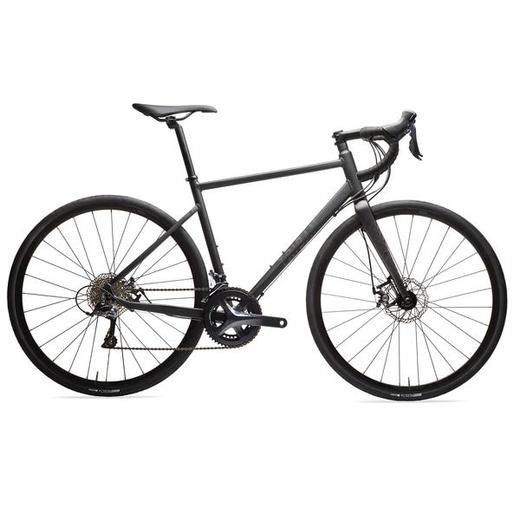 Bicicleta de Estrada Triban Travões de disco RC 500 Preto Sora
