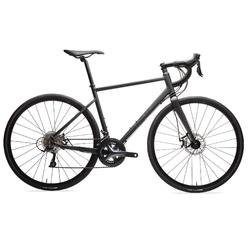 Triban RC 500 Disc Road Bike, Black - Sora