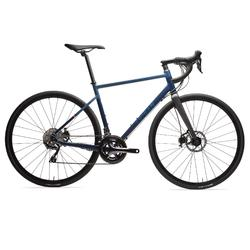 BICICLETA CARRETERA FRENO DISCO TRIBAN RC 520 AZUL