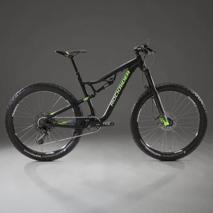 "Mountainbike AM 100 S 27,5"" Plus schwarz"