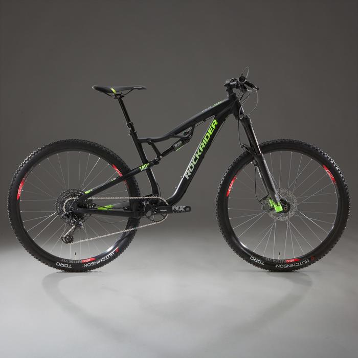 "Full suspension mtb AM 100 S 29"" SRAM NX Eagle 1x12-speed mtb fully"