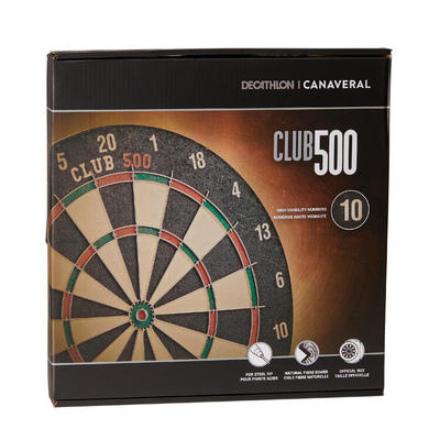 TABLERO TRADICIONAL DE DARDOS CLUB 500
