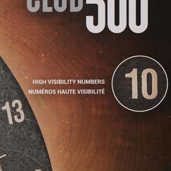 Dartscheibe Club 500 Steeldart Naturfasern