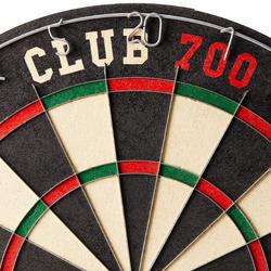 Dartscheibe Club 700 Steeldart Naturfasern