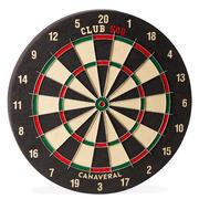 Dartboard Club 500 Traditional - Black/Red
